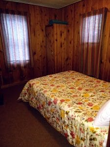 North Twin Lake cabin 1 bedroom 1.